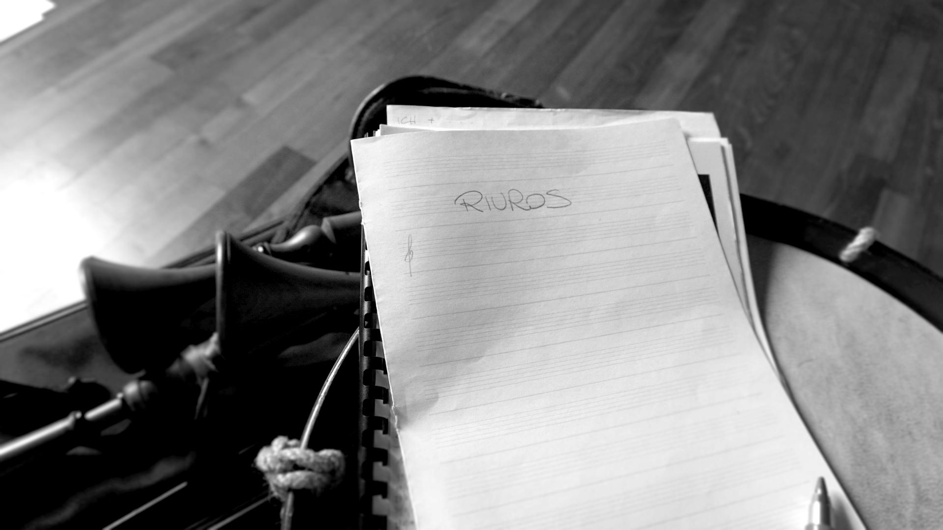 Le prove: cornamusa e percussioni tra brani antichi ed il nuovo album